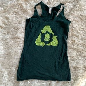Idaho Boise Recycle Area Code 208 Tank Top Size S